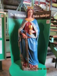 Zavetnica rudarjev Sv. Barbara